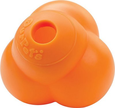 OurPets Atomic Treat Ball Dog Toy, Color Varies, Small