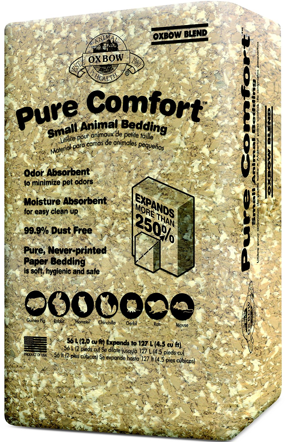Oxbow Pure Comfort Small Animal Bedding, Oxbow Blend Image