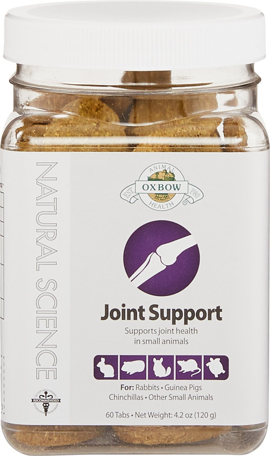 Oxbow Natural Science Joint Support Small Animal Supplement, 60 count Image