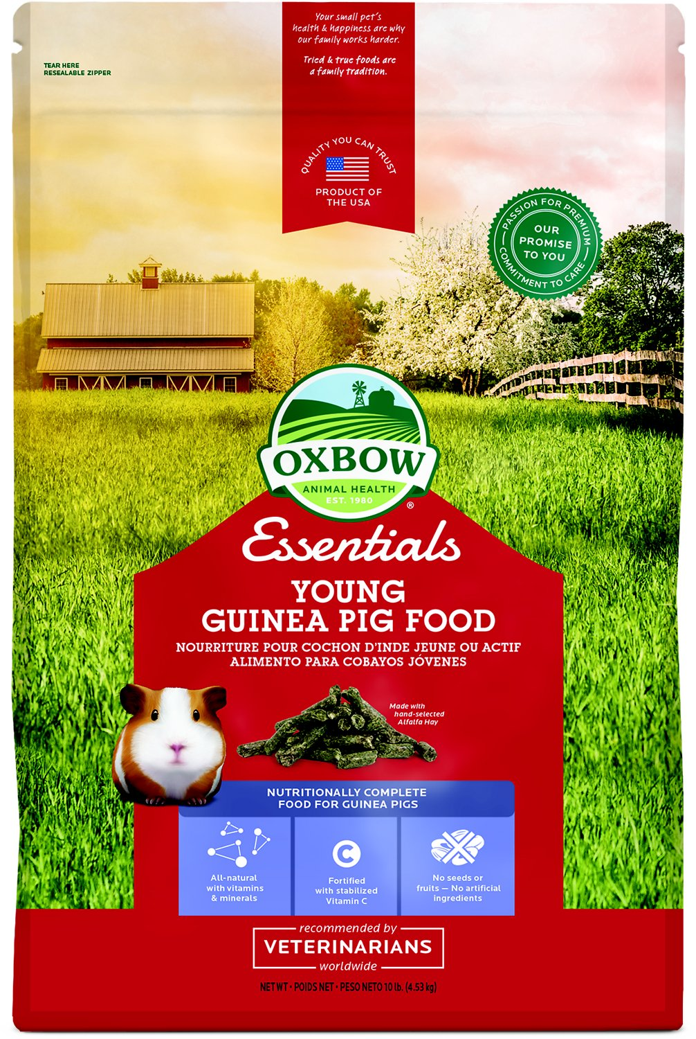Oxbow Essentials Cavy Performance Young Guinea Pig Food Image