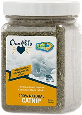 OurPets Cosmic Catnip, 2.25-oz jar
