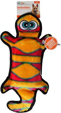 Outward Hound Invincibles Geckos Squeak Dog Toy, 4-Squeaker