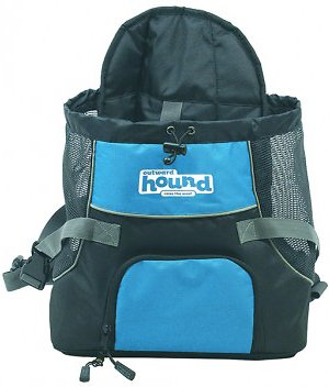 Outward Hound PoochPouch Dog Front Carrier, Blue, Medium Image