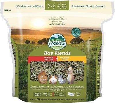 Oxbow Western Timothy and Orchard Hay Small Animal Food, 40-oz bag