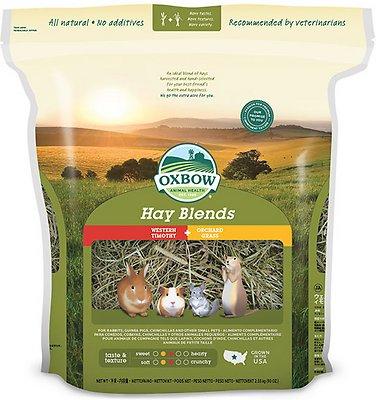 Oxbow Western Timothy and Orchard Hay Small Animal Food, 90-oz bag