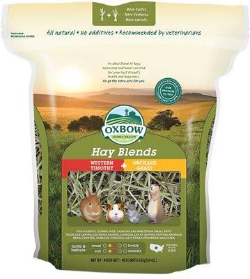 Oxbow Western Timothy and Orchard Hay Small Animal Food, 20-oz bag
