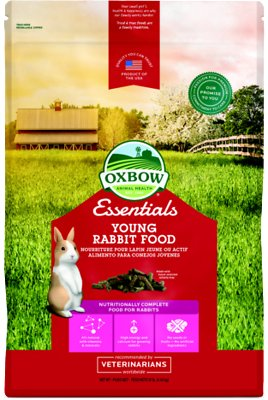 Oxbow Essentials Bunny Basics Young Rabbit Food, 10-lb bag