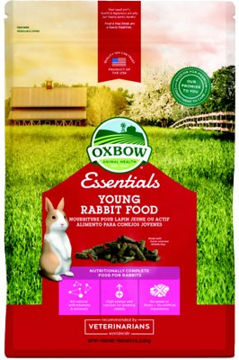 Oxbow Essentials Bunny Basics Young Rabbit Food, 5-lb bag