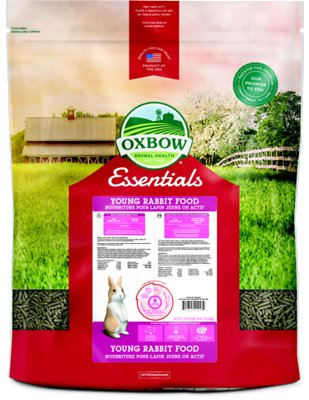 Oxbow Essentials Bunny Basics Young Rabbit Food, 25-lb bag