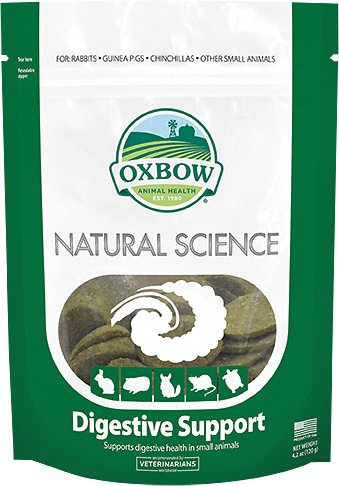 Oxbow Natural Science Digestive Support Small Animal Supplement, 60 count Image