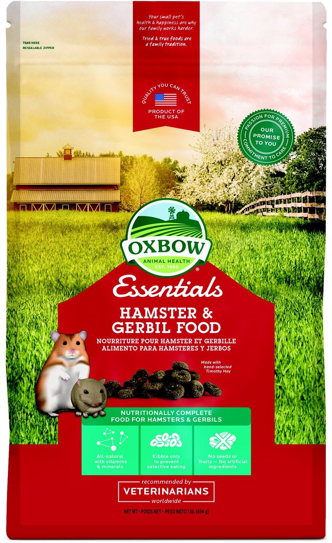 Oxbow Essentials Healthy Handfuls Hamster & Gerbil Food Image