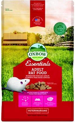 Oxbow Essentials Regal Rat Adult Rat Food, 3-lb bag