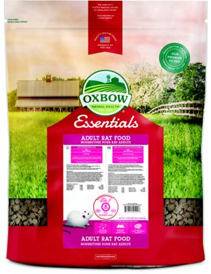 Oxbow Essentials Regal Rat Adult Rat Food, 20-lb bag