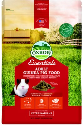 Oxbow Essentials Cavy Cuisine Adult Guinea Pig Food, 5-lb bag
