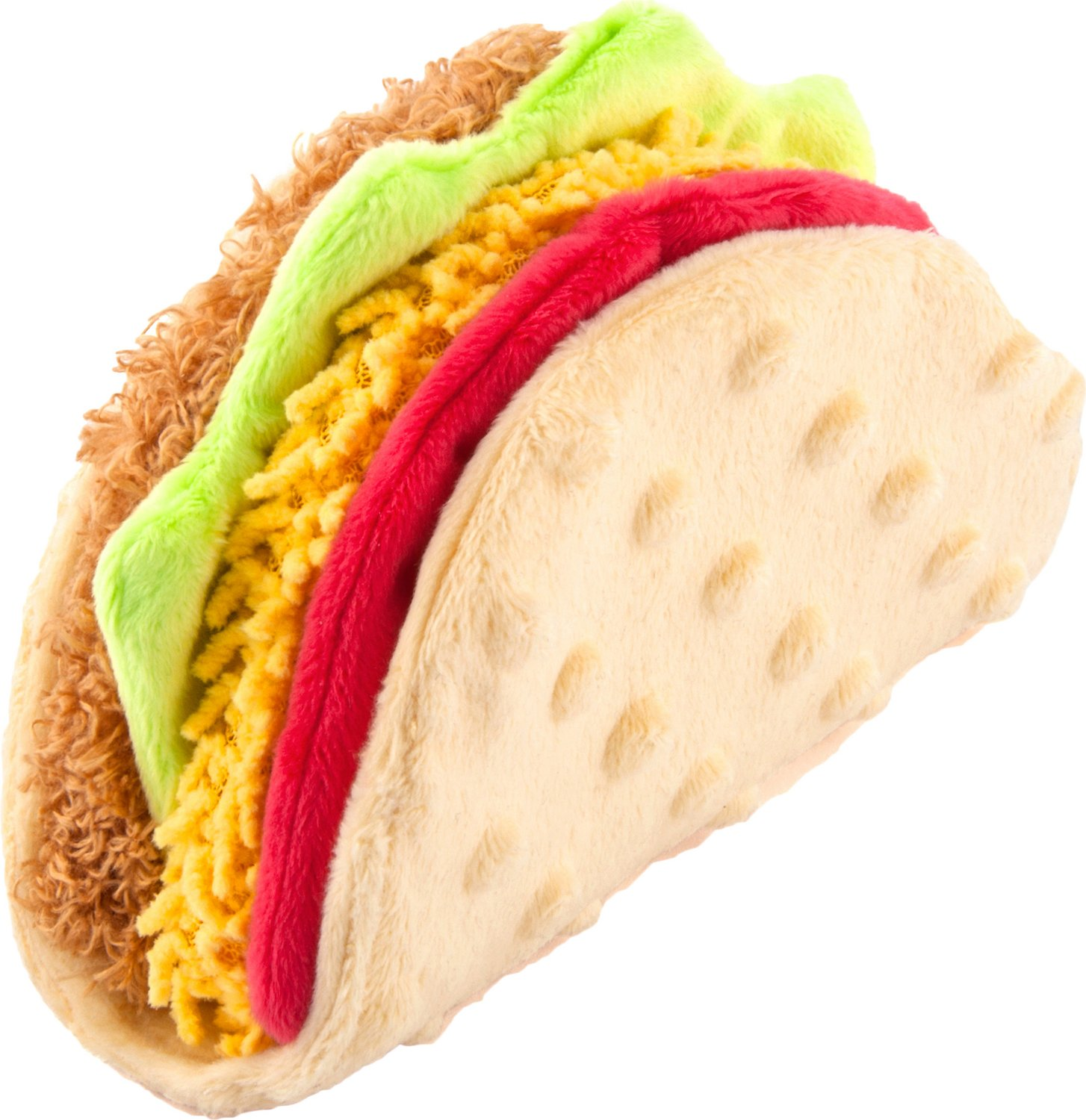 P.L.A.Y. Pet Lifestyle and You International Classic Food Taco Dog Toy