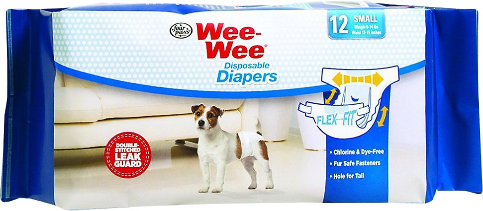 Wee-Wee Disposable Doggie Diapers Image