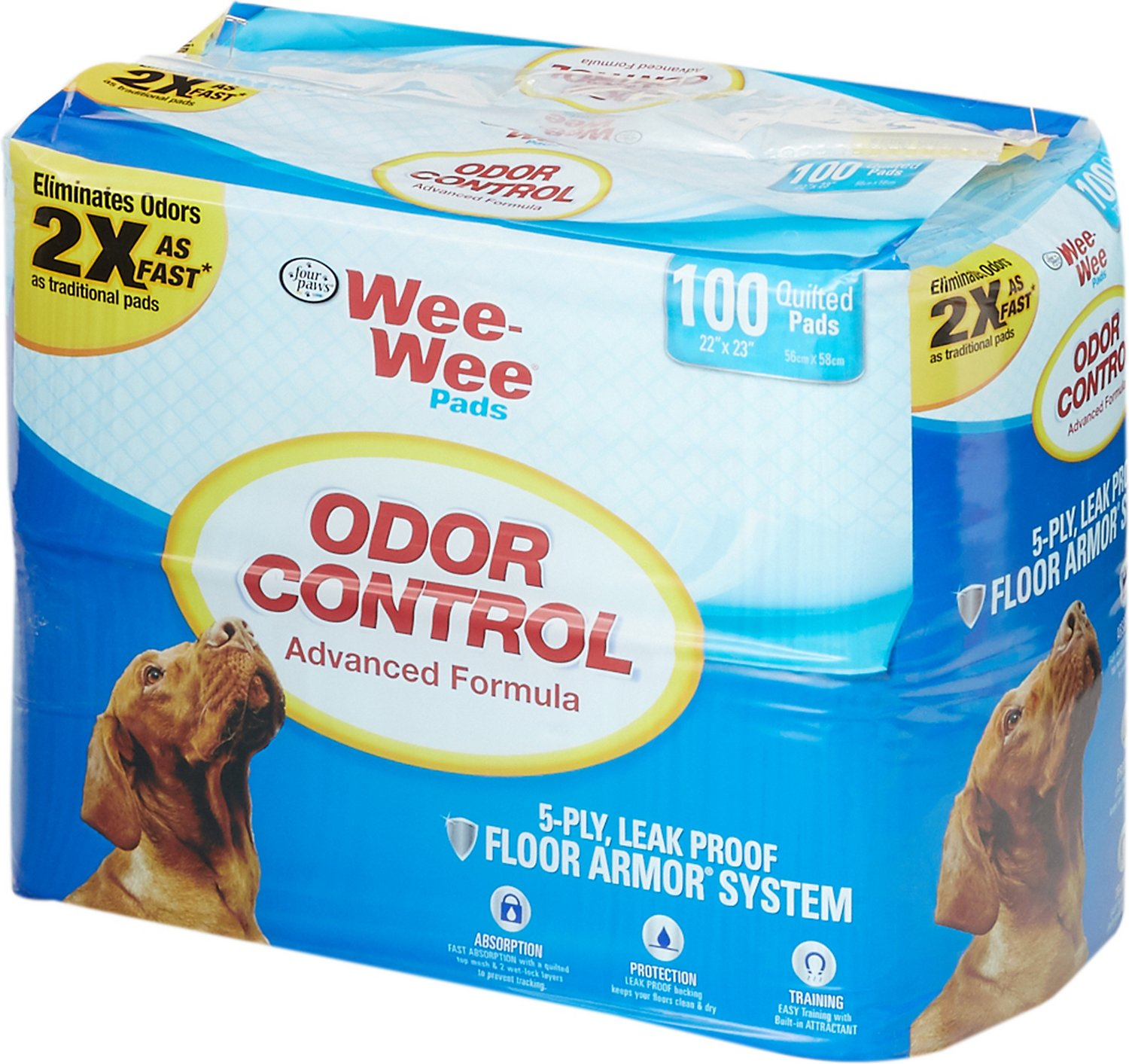 Wee-Wee Odor Control Pads for Dogs, 22 x 23 in Image