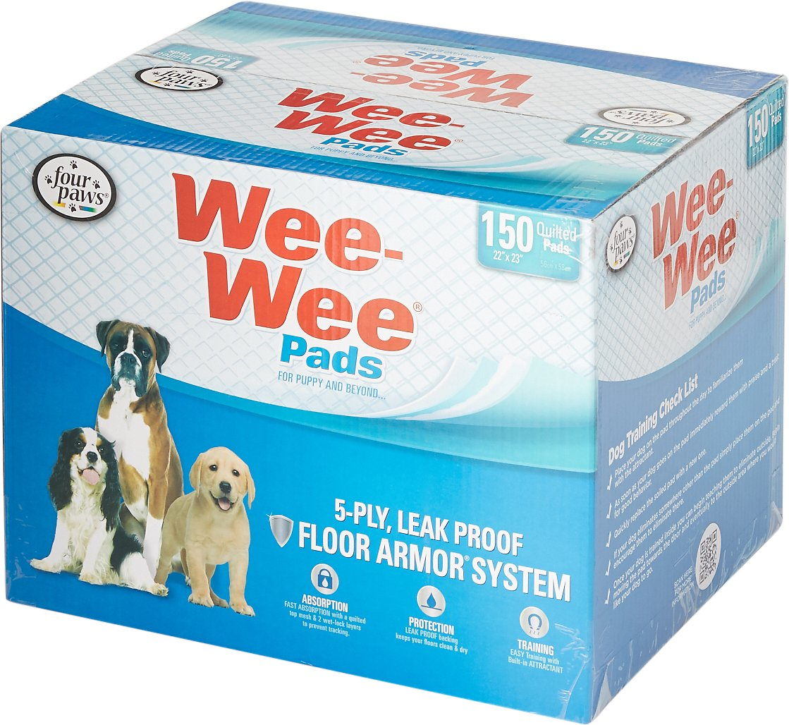 """Wee-Wee Pet Training and Puppy Pads, 22"""" x 23"""", 14- count Image"""