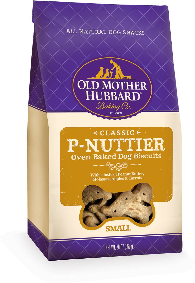 Old Mother Hubbard Classic P-Nuttier Biscuits Baked Dog Treats Image