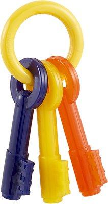 Nylabone Puppy Chew Teething Keys Dog Toy, X-Small