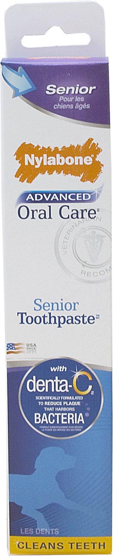 Nylabone Advanced Oral Care Senior Dog Toothpaste