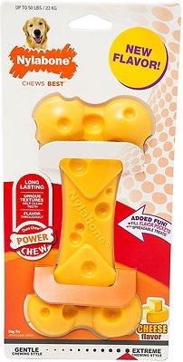 Nylabone DuraChew Cheese Flavored Dog Bone Toy, Large