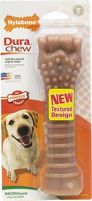 Nylabone DuraChew Bacon Flavor Bone Dog Toy, X-Large