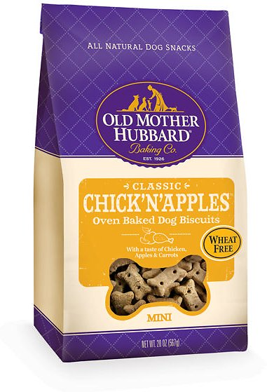 Old Mother Hubbard Classic Chick'N'Apples Biscuits Mini Baked Dog Treats Image