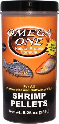 Omega One Sinking Shrimp Pellets Freshwater & Saltwater Fish Food Image