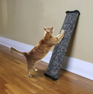 Omega Paw Lean-It Anywhere Cat Scratch Post, 25-in