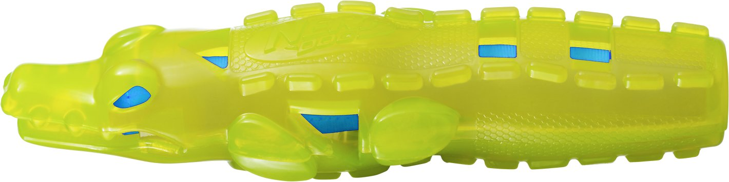 Nerf Dog Super Soaker Squeak Crocodile Dog Toy (Weights: 6.4ounces) Image