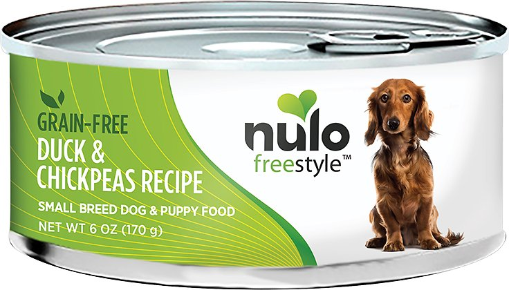 Nulo Dog Freestyle Pate Duck & Chickpeas Recipe Grain-Free Small Breed & Puppy Canned Dog Food Image
