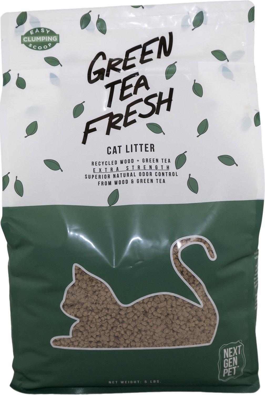 Next Gen Pet Products Green Tea Fresh Cat Litter, 11.5-lb bag