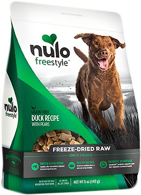 Nulo Dog Freestyle Grain-Free Duck Recipe With Pears Freeze-Dried Raw Dog Food, 13-oz bag