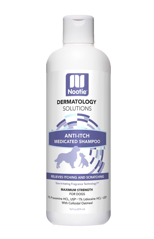 Nootie Medicated Anti-Itch Dog Shampoo, 8-oz