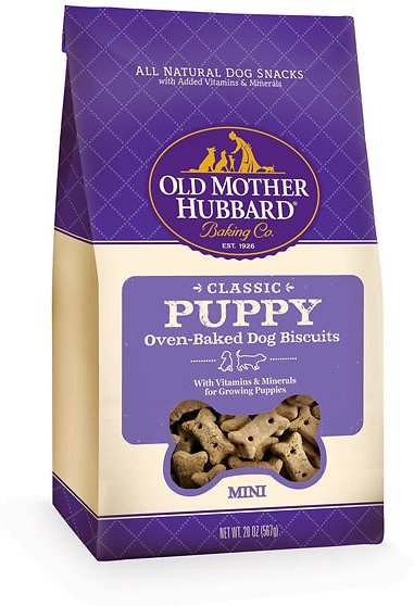 Old Mother Hubbard Classic Puppy Biscuits Mini Baked Dog Treats Image