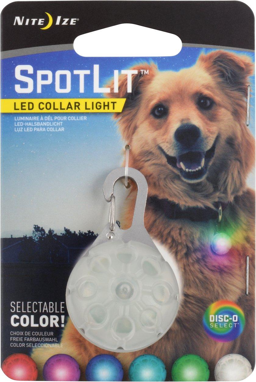 Nite Ize SpotLit LED Disc-O Select Dog Collar Light