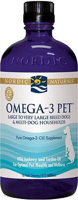 Nordic Naturals Omega-3 Dog Supplement, 16-oz