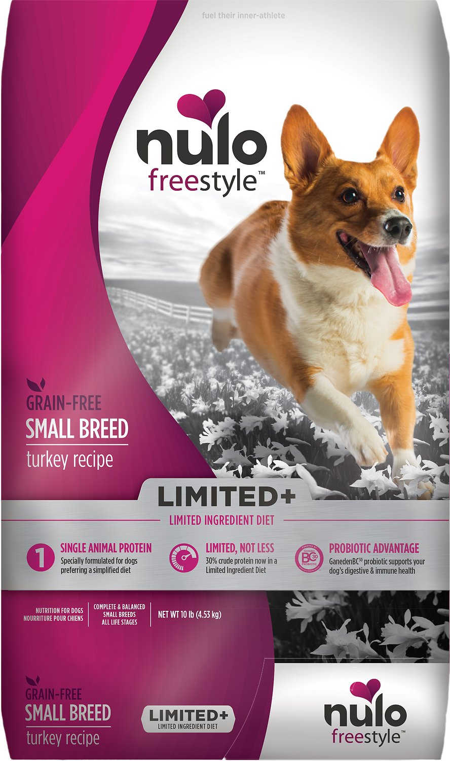 Nulo Dog Freestyle Limited+ Turkey Recipe Grain-Free Small Breed Adult Dry Dog Food Image