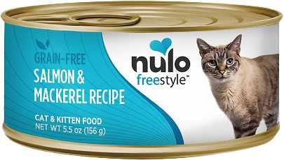Nulo Cat Freestyle Pate Salmon & Mackerel Recipe Grain-Free Canned Cat & Kitten Food Image