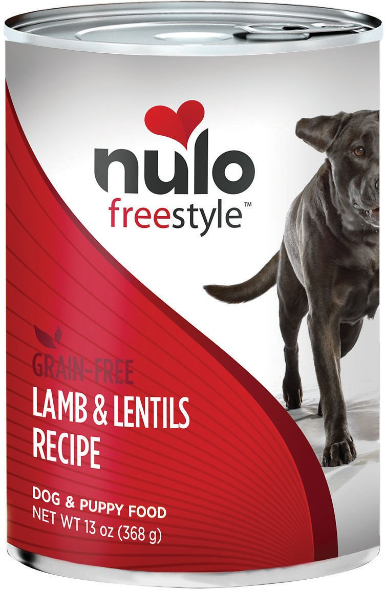 Nulo Dog Freestyle Pate Lamb & Lentils Recipe Grain-Free Canned Dog Food Image