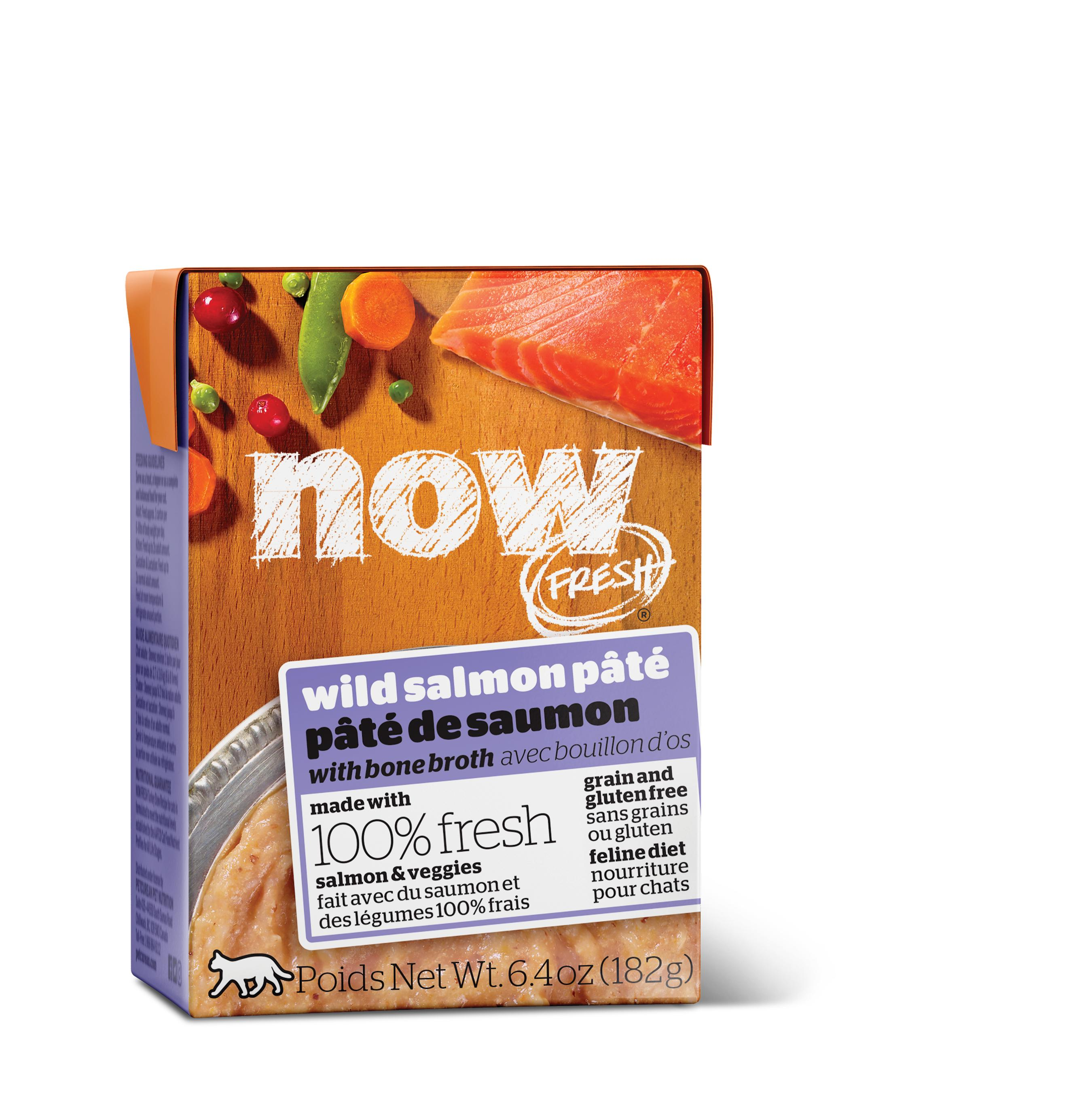 NOW FRESH Wild Salmon Pate Grain-Free Wet Cat Food Image