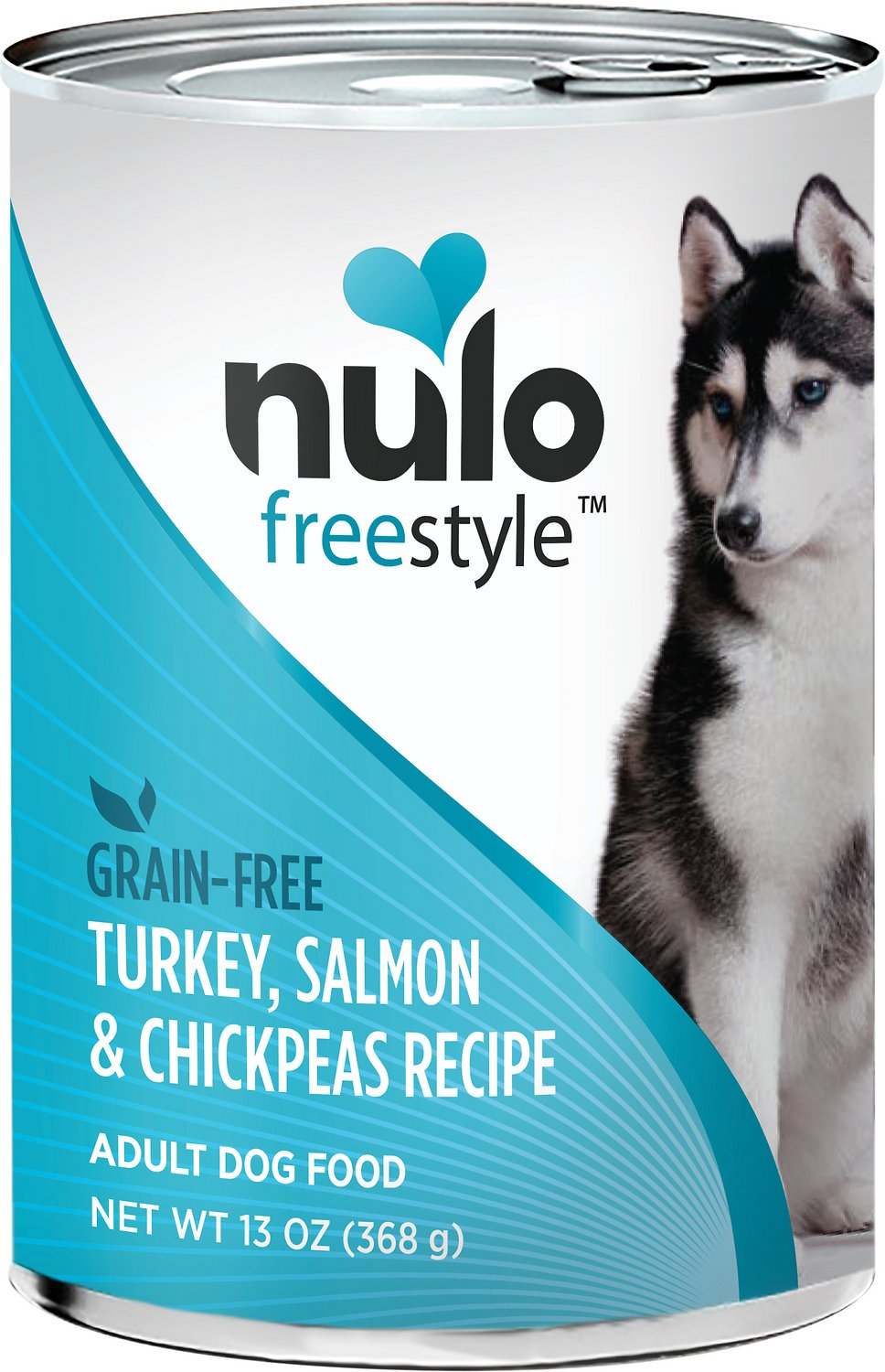 Nulo Dog Freestyle Pate Salmon & Chickpeas Recipe Grain-Free Canned Dog Food Image