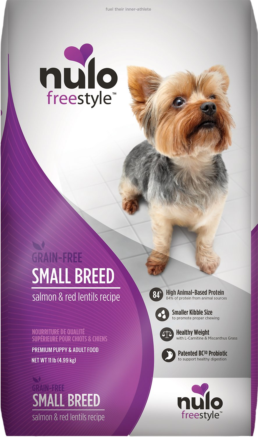 Nulo Dog FreeStyle Small Breed Salmon & Red Lentils Recipe Grain-Free Dry Dog Food Image