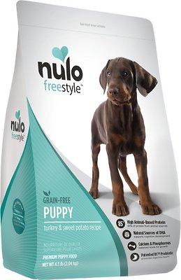 Nulo Dog FreeStyle Grain-Free Turkey & Sweet Potato Recipe Puppy Dry Dog Food, 4.5-lb bag