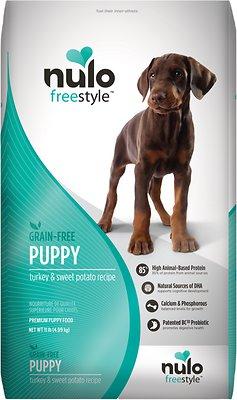 Nulo Dog FreeStyle Grain-Free Turkey & Sweet Potato Recipe Puppy Dry Dog Food, 11-lb bag