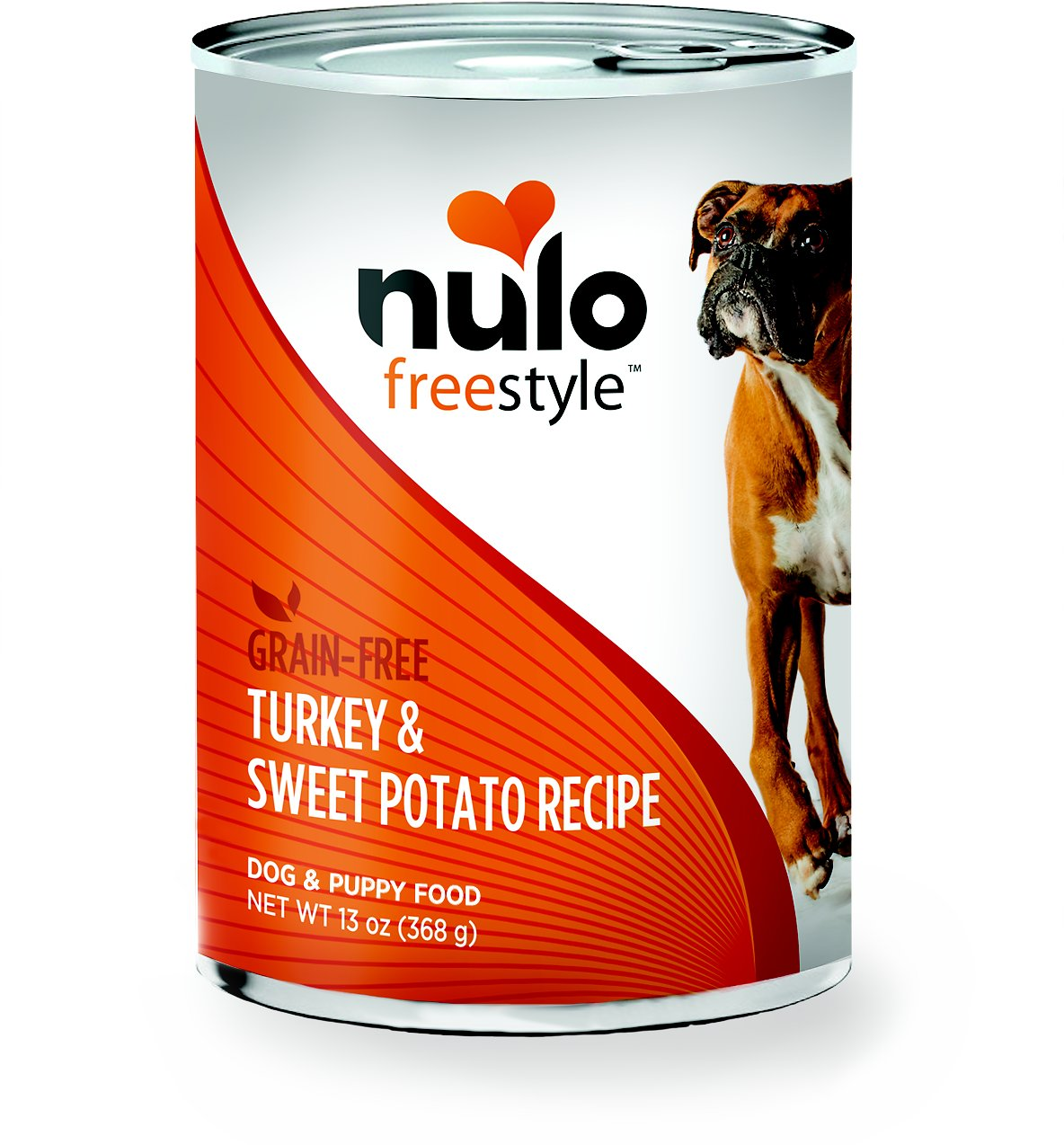 Nulo Dog Freestyle Pate Turkey & Sweet Potato Recipe Grain-Free Canned Dog Food, 13-oz