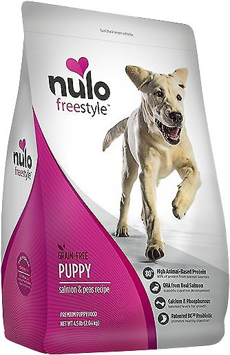 Nulo Dog Freestyle Salmon & Peas Recipe Grain-Free Puppy Dry Dog Food Image