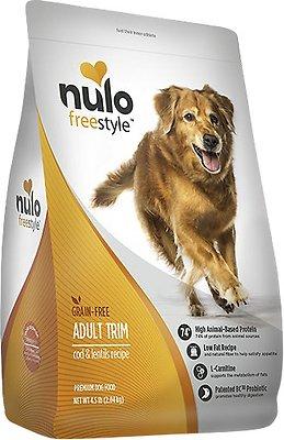 Nulo Dog Freestyle Cod & Lentils Recipe Grain-Free Adult Trim Dry Dog Food, 4.5-lb bag