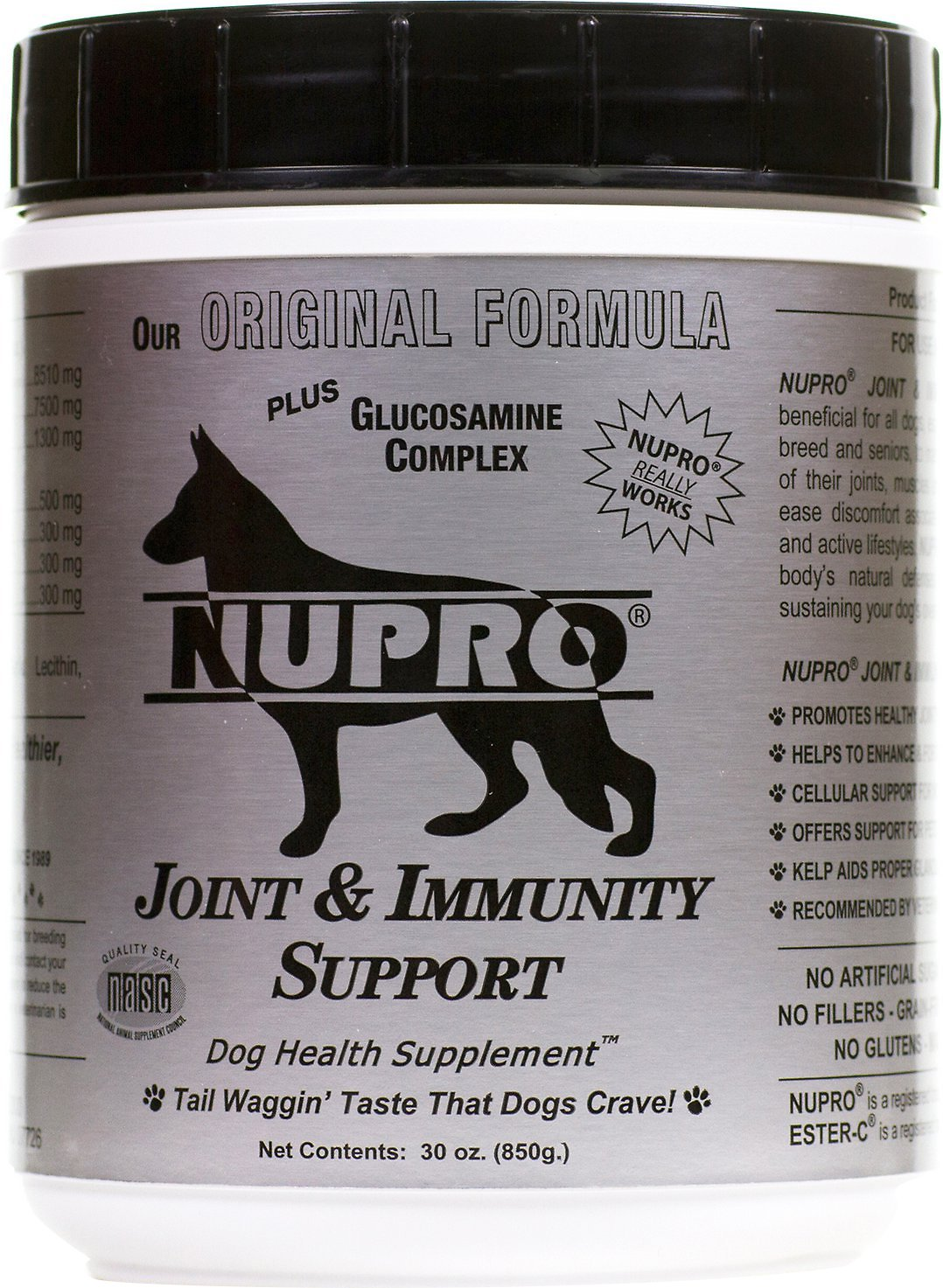 Nupro All Natural Joint & Immunity Support Dog Supplement Image